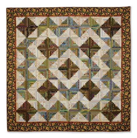 Log Cabin Quilt Pattern Variations by Pin By Nancy Atkinson On Log Cabin Quilts