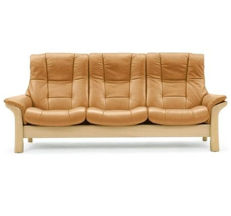 Carters Furniture by Stressless Buckingham High Back 3 Seater Medium Sofas Carters Furniture Centre Ltd