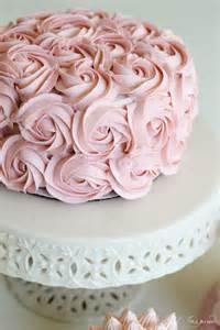 25 best ideas about rose cake on pinterest pink rose easy cake decorating ideas