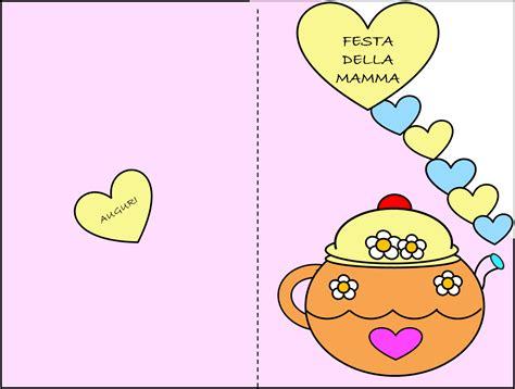lettere festa della mamma poesia biglietto e disegno da colorare per la festa della