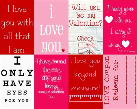 valentines day note s day notes s day ideas