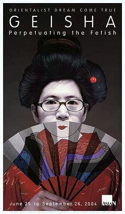 geisha the truth beyond the fantasies geisha poster self portrait as faux geisha