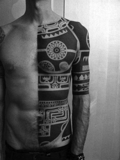 half body tribal tattoo 1202 best images about the human canvas on