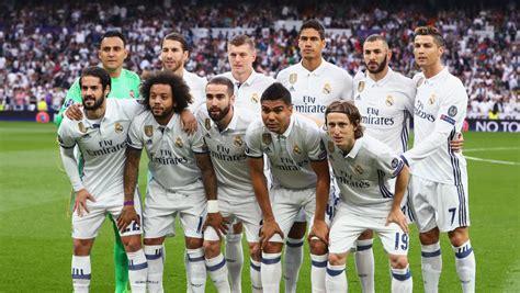 photo real madrid 2016 2017 el real madrid de zidane ce 243 n de la liga 2016 2017