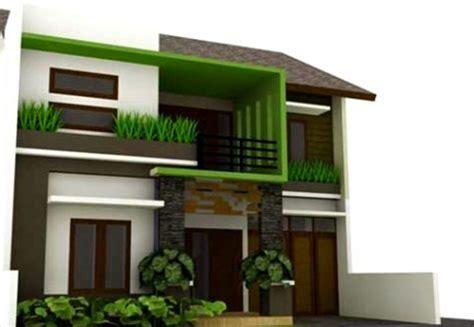 kombinasi membuat warna coklat simak cat rumah hijau coklat yang viral cat rumah minimalis