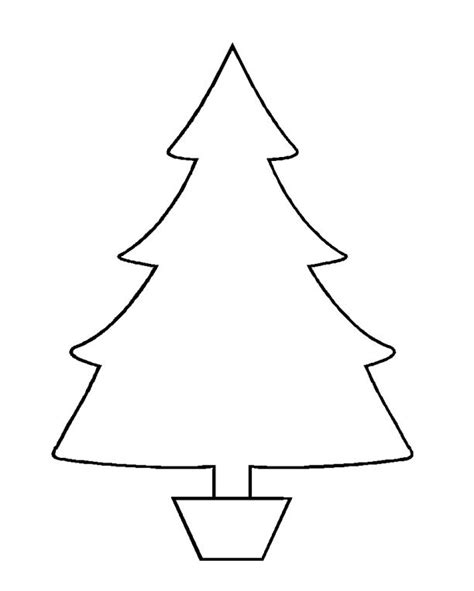 printable templates of christmas trees 37 christmas tree templates in all shapes and sizes