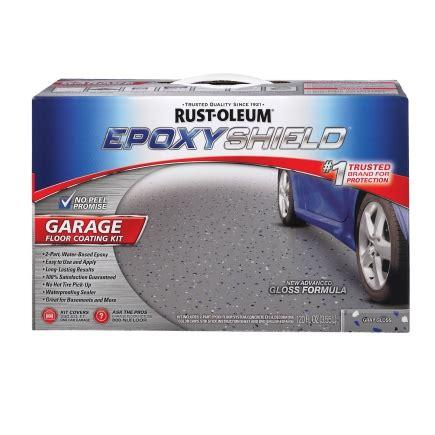 rust oleum water based high gloss garage floor coating kit