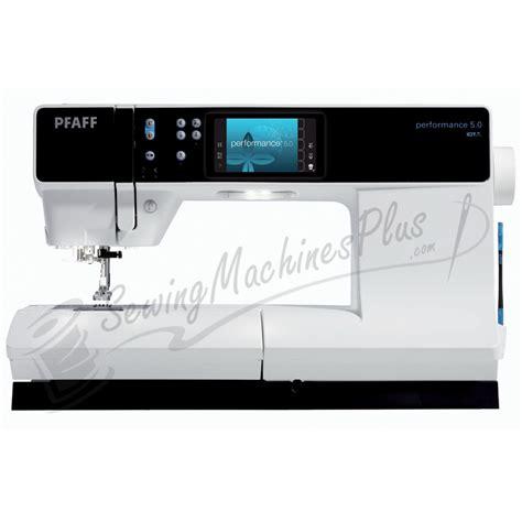 Pfaff Quilting Machines by Pfaff Performance 5 0 Sewing Machine