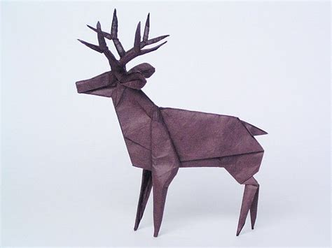 Origami Deer - pin by k fairbanks on by other 1