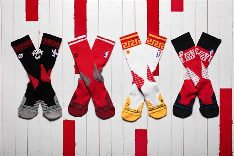 new year socks stance unveils nba quot new year quot socks