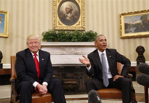 president trump oval office excellent first meeting for obama trump wavy tv