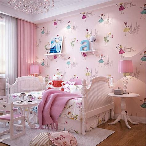 cute bedroom wallpaper 2016 new arrival cute ballet princess wallpaper lovely