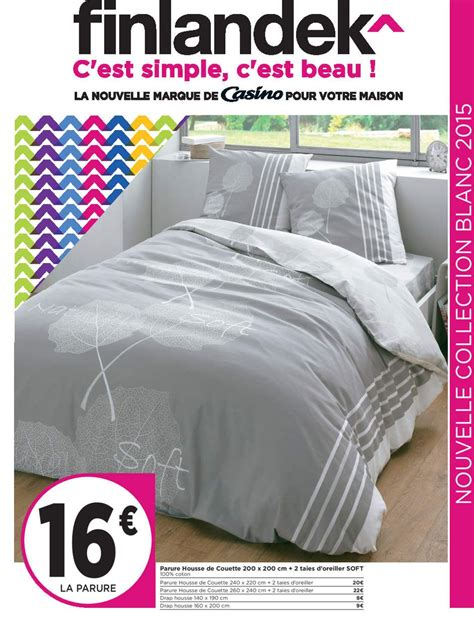 Geant Casino Couette by Housse De Couette Geant Casino Cgmrotterdam