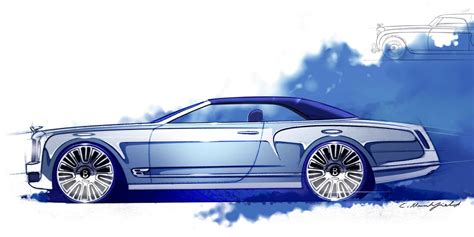 new bentley mulsanne coupe bentley mulsanne convertible previewed in design sketches