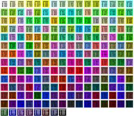 web color chart simon whatley web safe colour charts