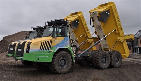 general contractor ta terex trucks help glasgow get ready