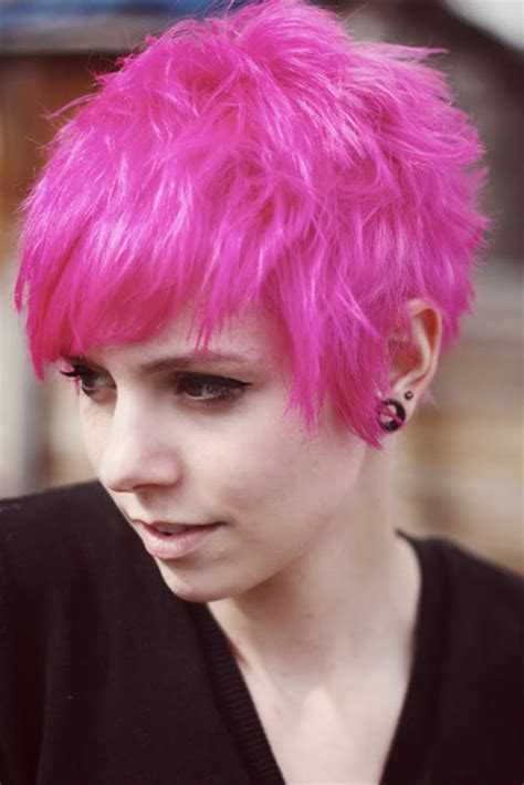 hairstyles short hair pink short cuts with color short hairstyles 2017 2018