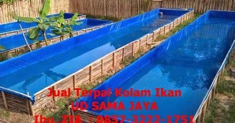Jual Kolam Terpal Tulungagung jual terpal kolam harga terpal untuk kolam lele harga