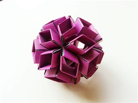 Rhombic Dodecahedron Origami - rhombic triacontahedron origami images