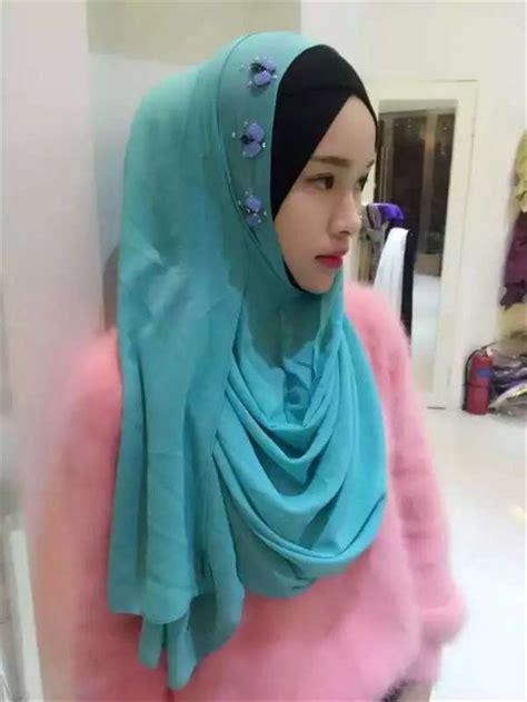 Pashmina Instant Athalia Best Quality borong instant shawl best quality islamic chiffon tudung borong scarf