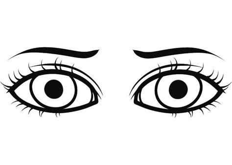 imagenes ojos para colorear dibujos ojos para colorear imagui