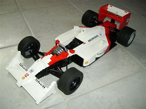 How To Make A F1 Car Out Of Paper - lego ideas mclaren mp4 4 f1
