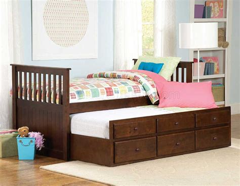 With Trundle Bed by 571pe 1 Zachary Trundle Bed In Espresso By