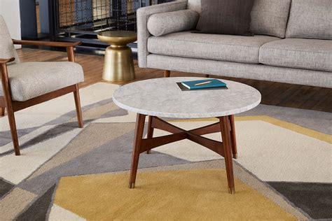 elm reeve coffee table elm workspace reeve marble coffee table