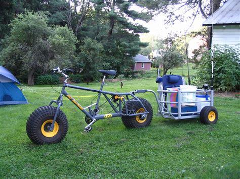 cart for bike surf fishing cart bike trailer