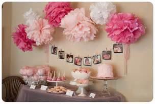 girly pink baby shower photographer