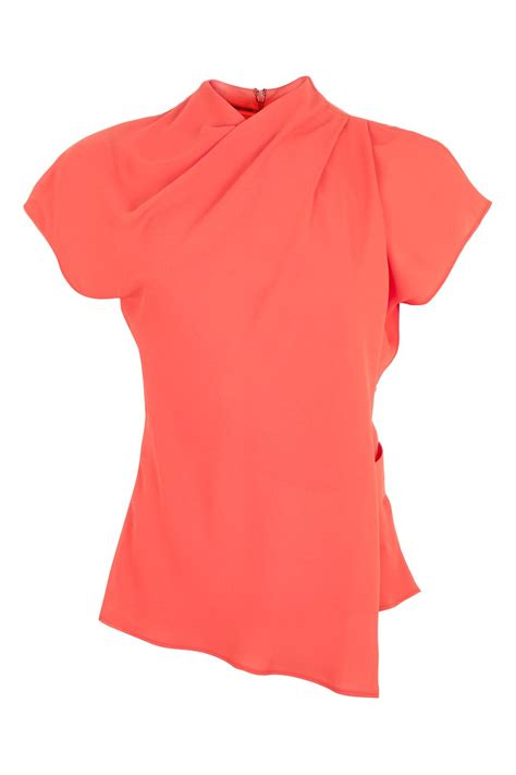 Origami Wrap - origami wrap blouse new in topshop