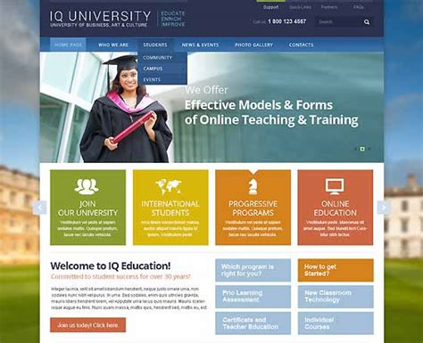 bootstrap templates for university education templates themes gridgum