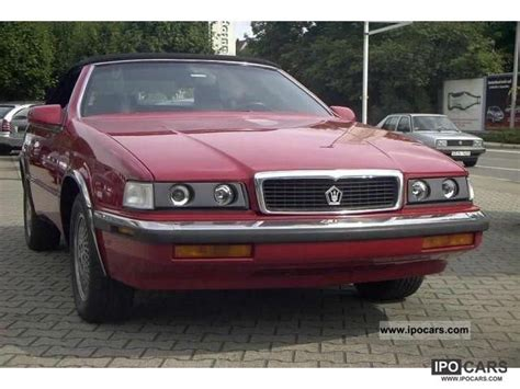 which country makes maserati 1991 chrysler maserati town country car photo and specs