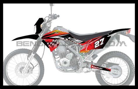 Decall Klx 150 Fly Racing klx 150 bf race bengkel decal