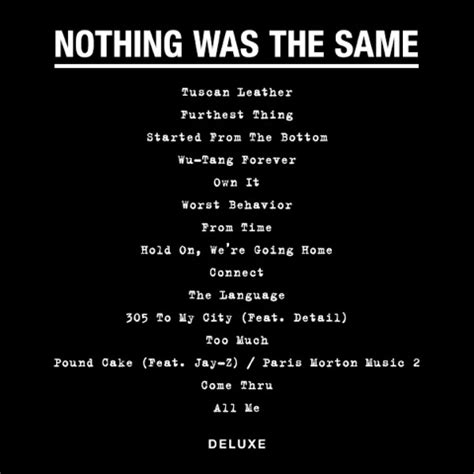 nothin on you testo reveals tracklist for nothing was the same