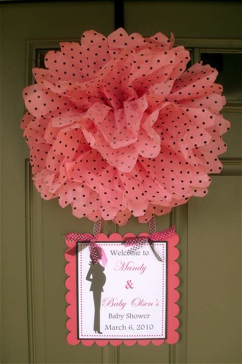 Modern Baby Shower Baby Shower Party Ideas Photo 1 Of 20 Baby Shower Door Decorations