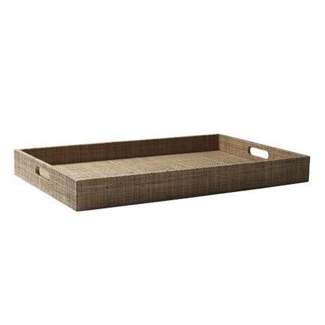 west elm ottoman tray large rectangle lacquer trays west elm trays