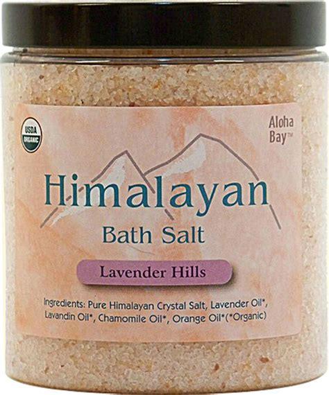 Aloha Bay Salt L by Bath Salt Organic Lavender Hill 24 Oz 9 43ea From Aloha Bay
