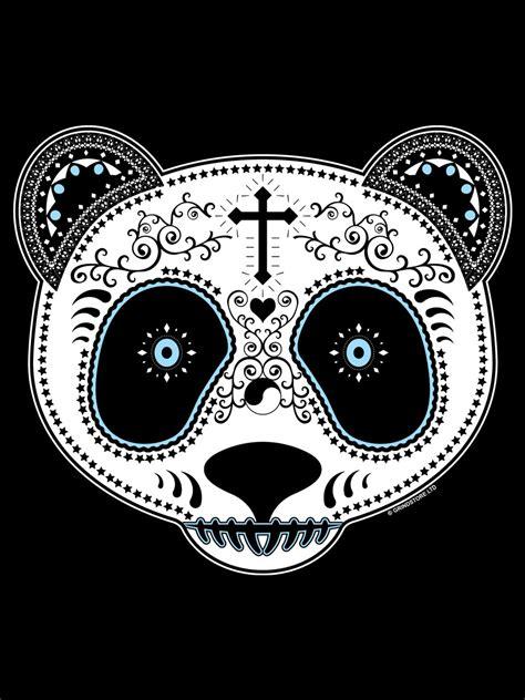 Sugar Skull Panda sugar skull panda messenger bag buy at grindstore