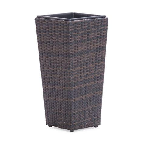 woven modern indoor outdoor planter container
