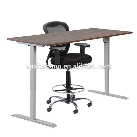sit and stand desk factory price sit and stand electric height adjustable
