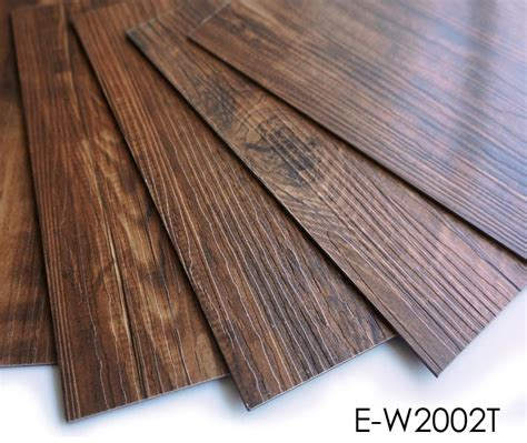 Wear Resistance Water Proof  Adhesive Vinyl Plank Pvc