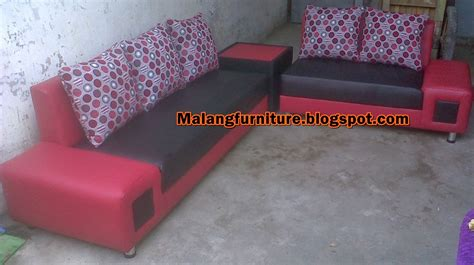 Sofa Pojok Minimalis malang furniture sofa minimalis meja pojok type 3 2 kain bebas tangan persegi 5 bantal