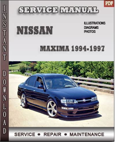 automotive service manuals 1994 nissan maxima engine control service manual free online car repair manuals download 1994 nissan maxima spare parts catalogs