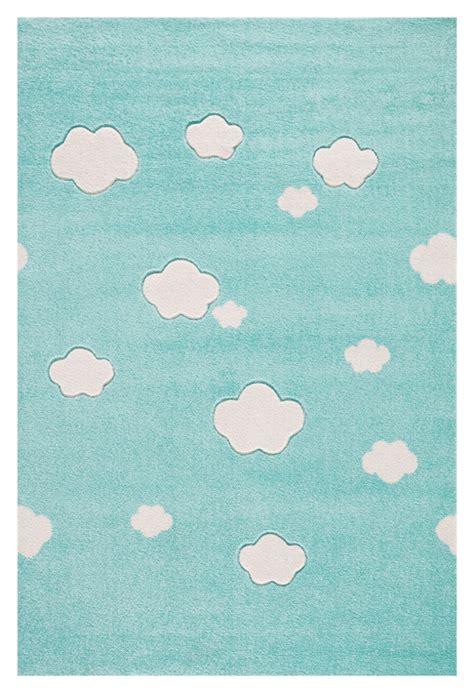 kinderzimmer teppich schlicht kinderteppich auf wolke 7 teppich in mint mit wei 223 en