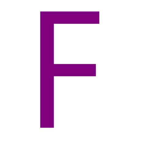 free purple letter f icon purple letter f icon