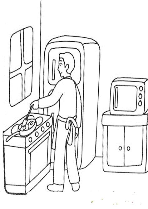 dibujos de cocina para colorear mi colecci 243 n de dibujos dibujos de cocina