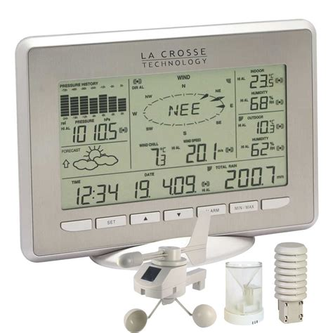 la crosse ws2800 it solar powered weather station