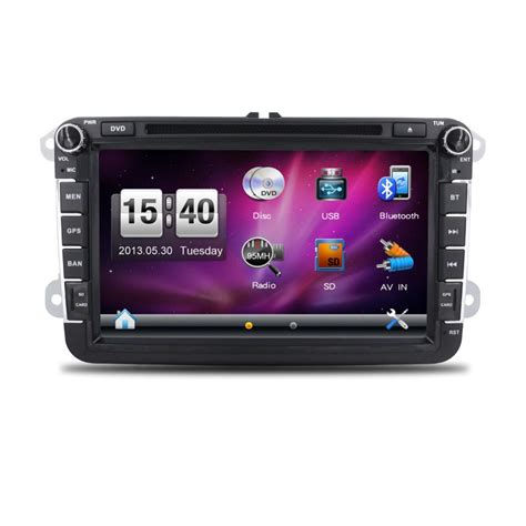 Din Car Multimedia Player Touch Screen 65 Inch Built In Bt 2 din car radio player with gps 7inch touch screen car dvd for volkswagen vw passat b5 vw