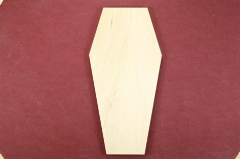 Coffin Shaped Business Cards